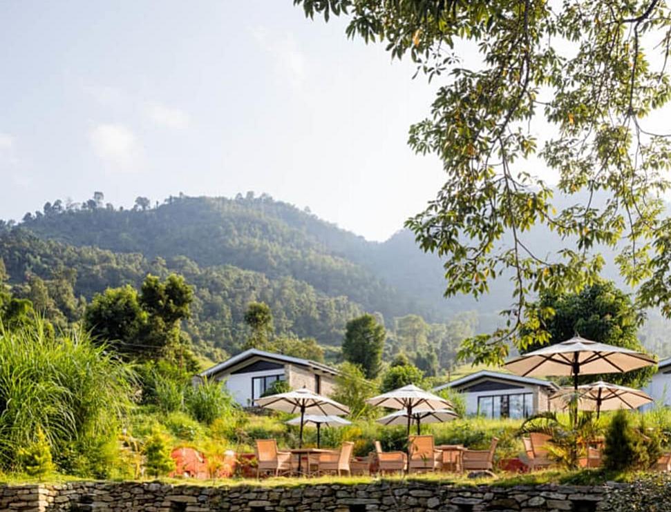 Luxury eco-villas