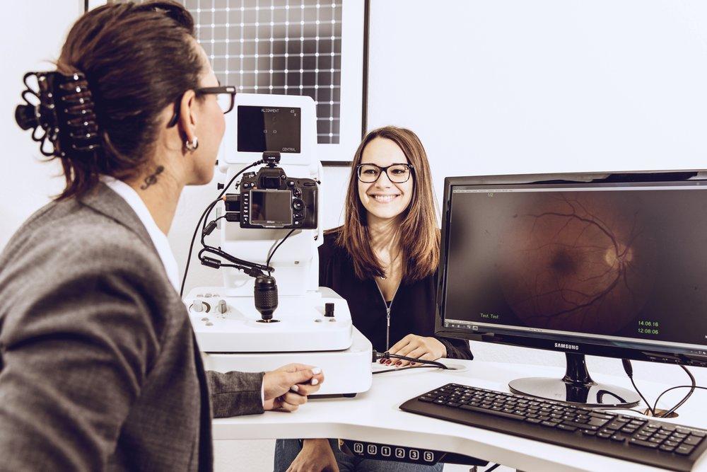 Optometrisches Screening