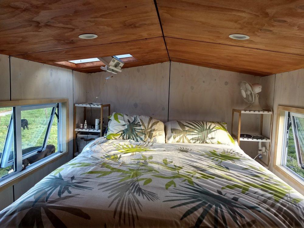Bedroom ceiling.