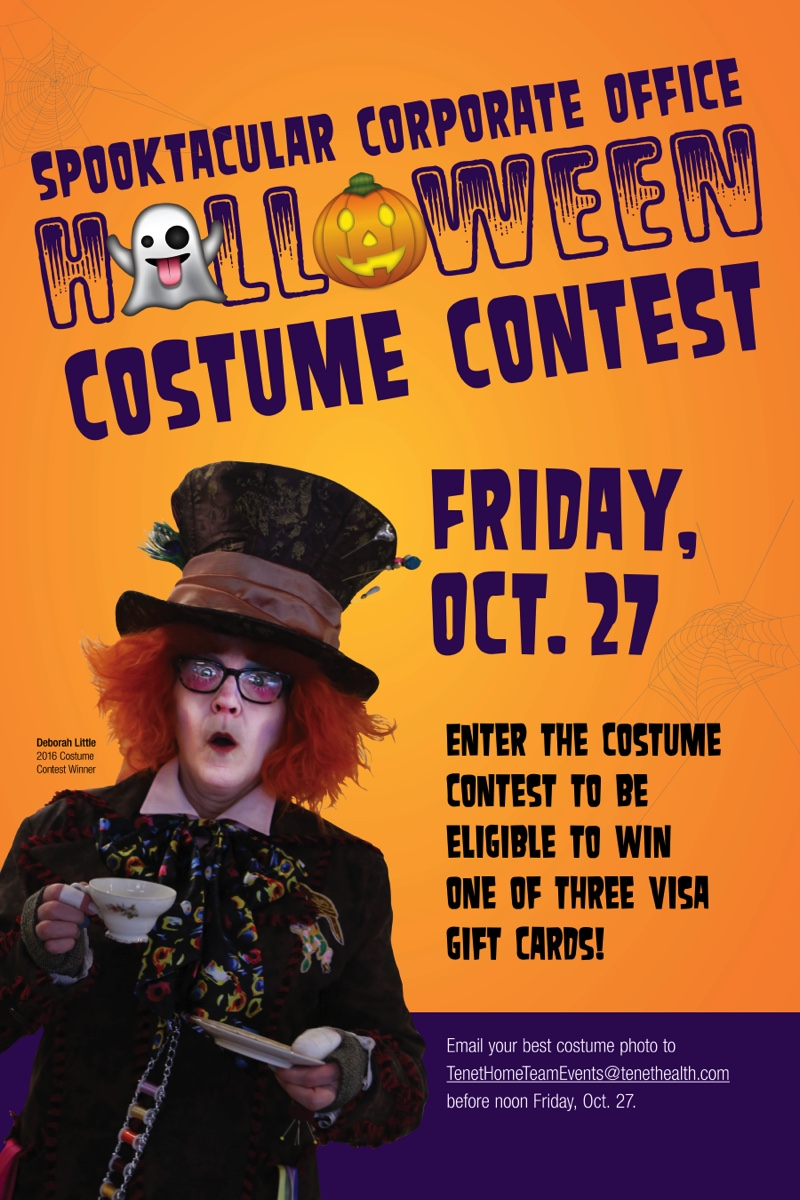 Costume Contest Poster