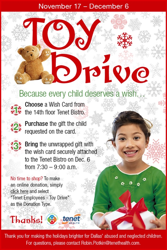 Toy Drive Email