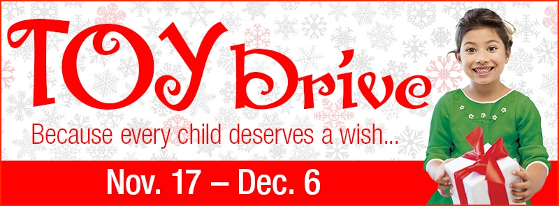 Toy Drive Web Banner