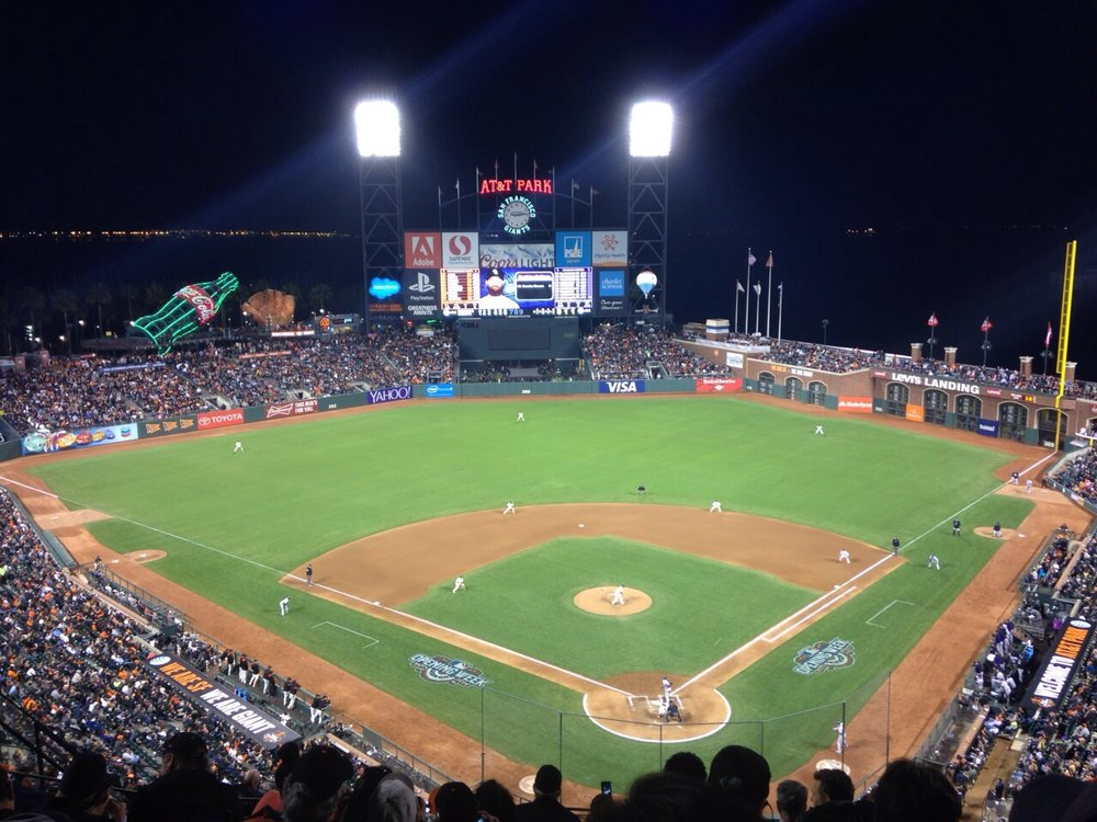 A night at AT&T Park.JPG