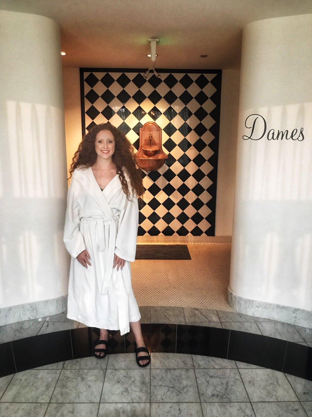 blogger san francisco burke williams day spa