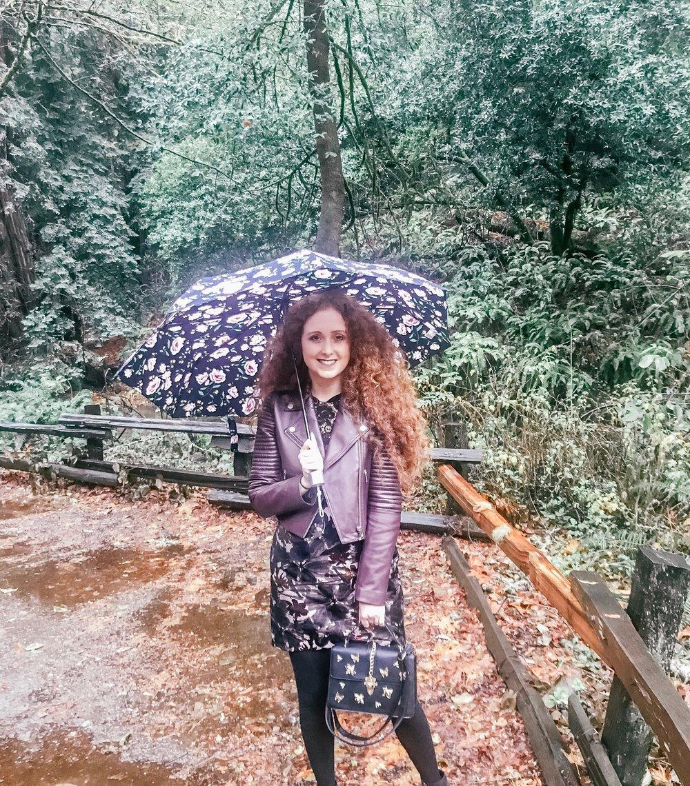 A little rainy at Muir Woods