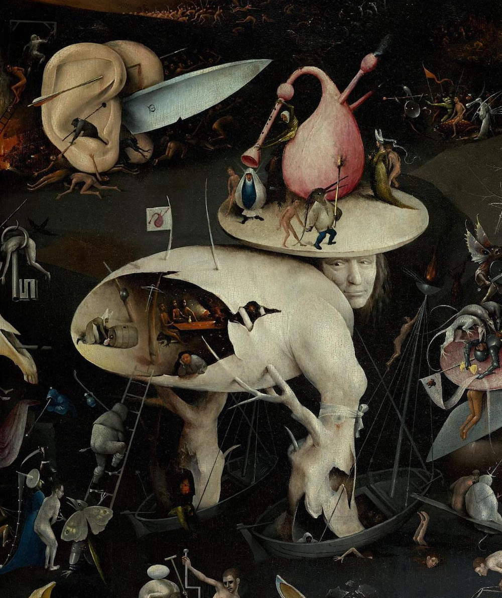 The Garden of Earthly Delights  Right Panel Hieronymus Bosch (1495 -1505)