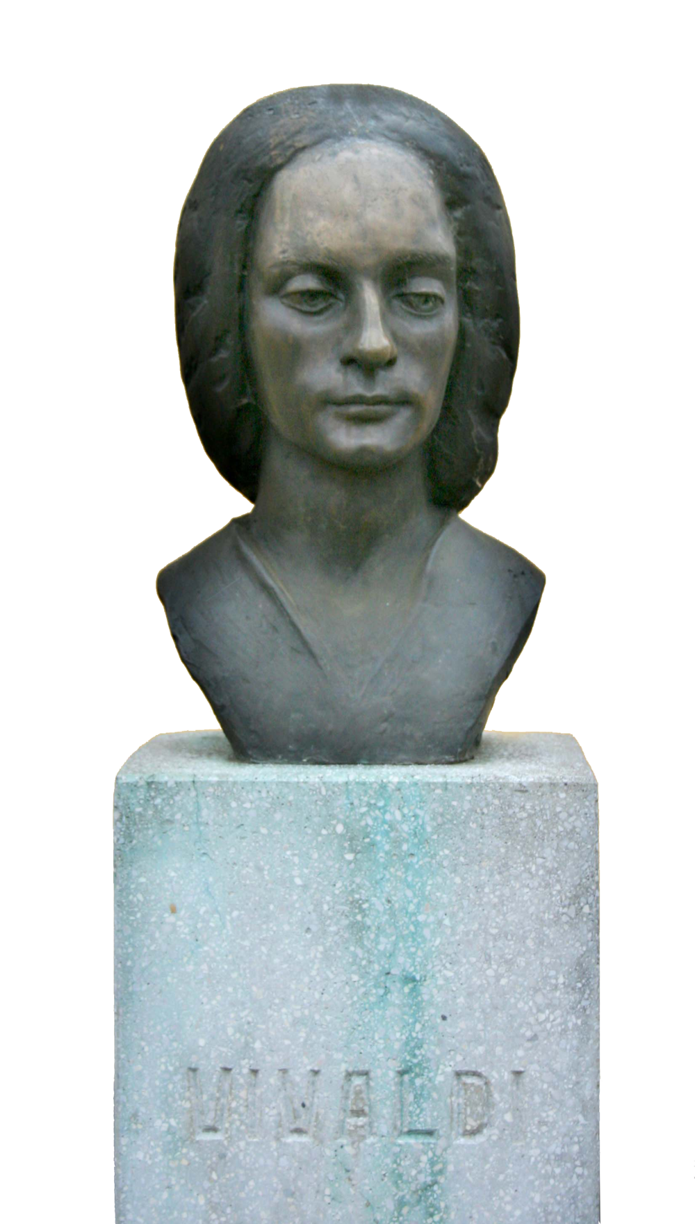 Bust of Vivaldi Sarospatak, Hungary