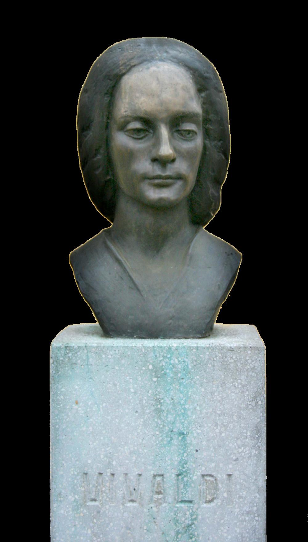 Bust of Vivaldi Sarospatak, Hungary