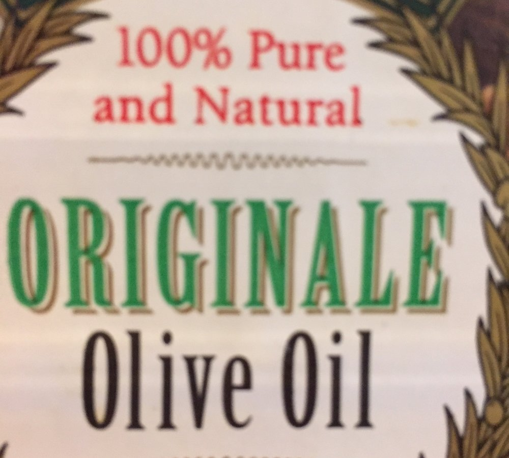 A few tablespoons of any oil with a good flavor.