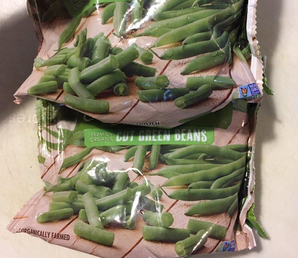 Frozen (or fresh) green beans