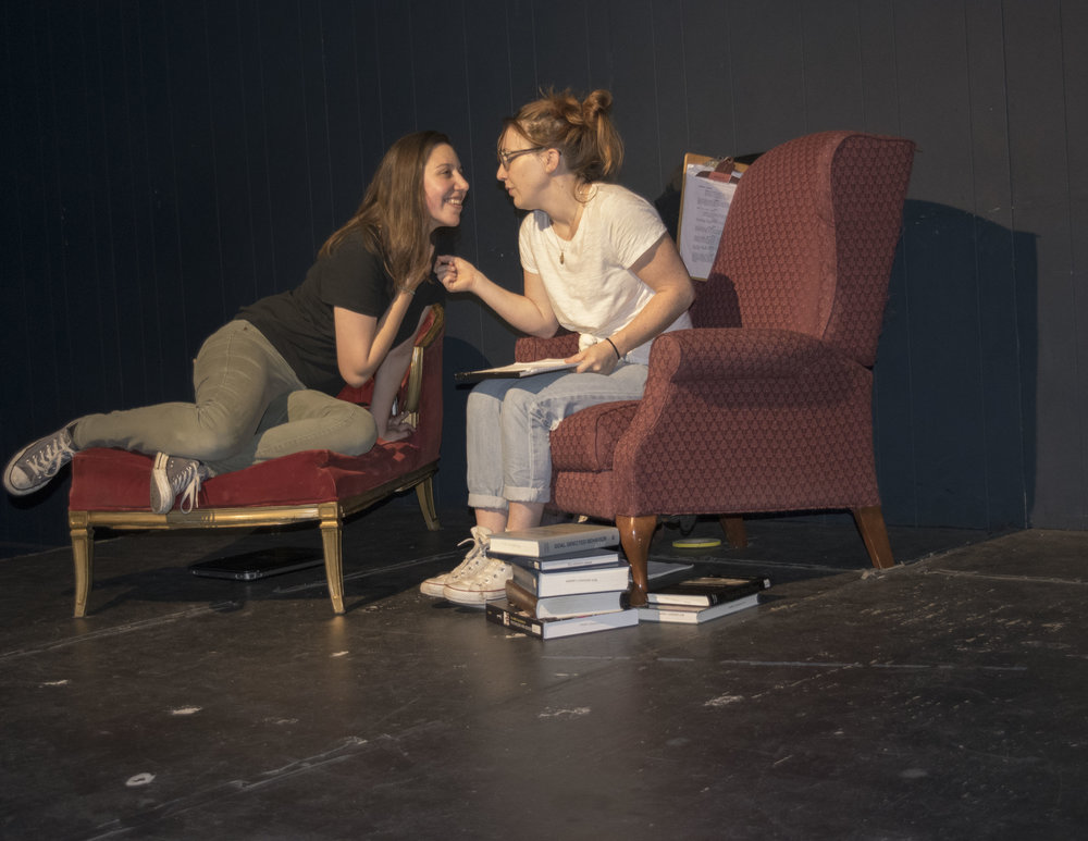 Kacie Adams and Alex Garrett in  Bertie: A Tragedy in Eight Comedies