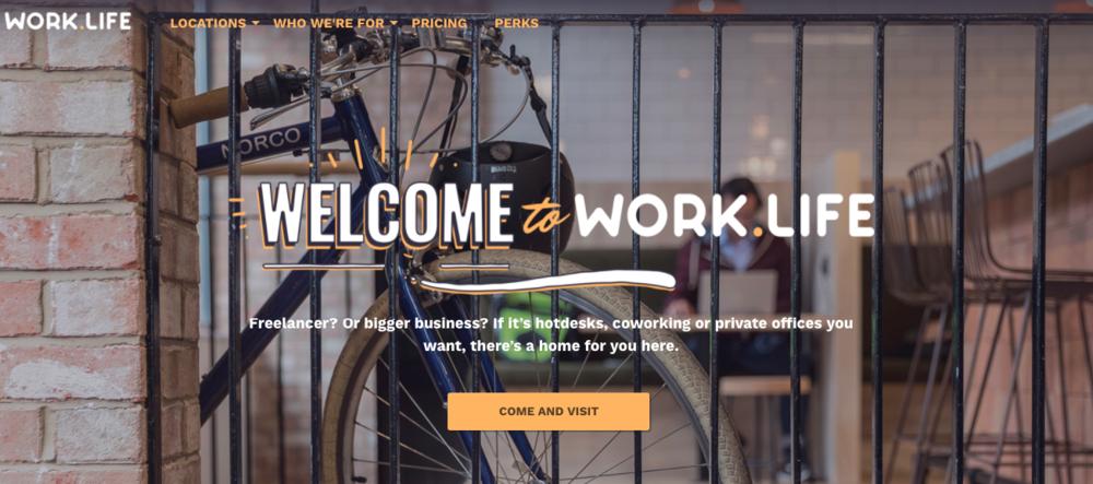 出典: Work.Life - Homepage