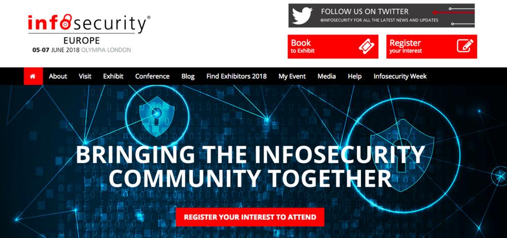 出典: Infosecurity Europe 2018