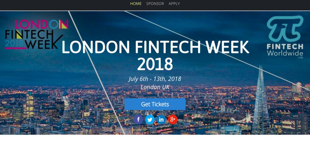 出典: London Finctech Week