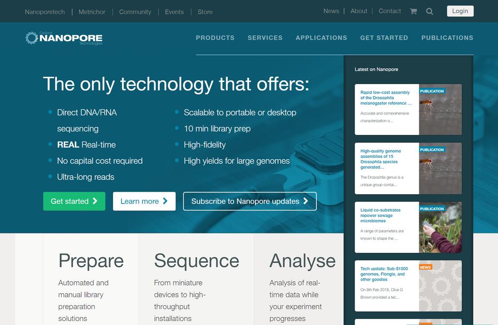 出典: Oxford Nanopore Technologies