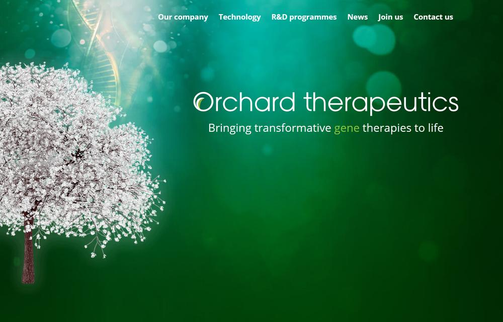 出典; Orchard Therapeutics
