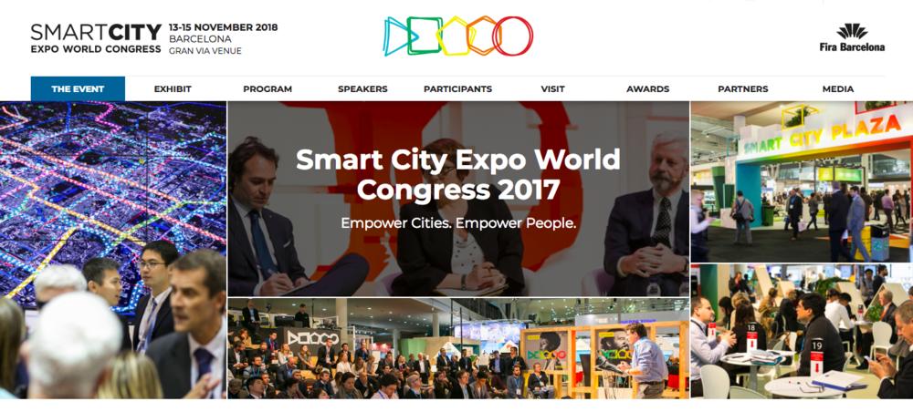 出典:SMART CITY Expo World Congress