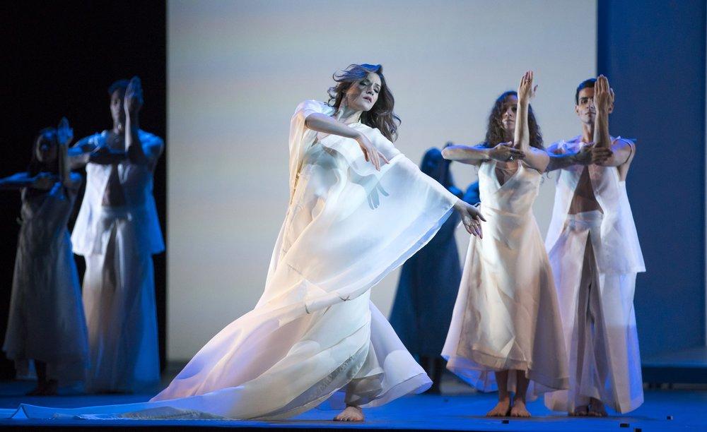 Soprano Andriana Chuchman in Orphee Et Eurydice