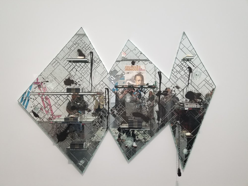 GLASS JAW, Rashid Johnson, 2011