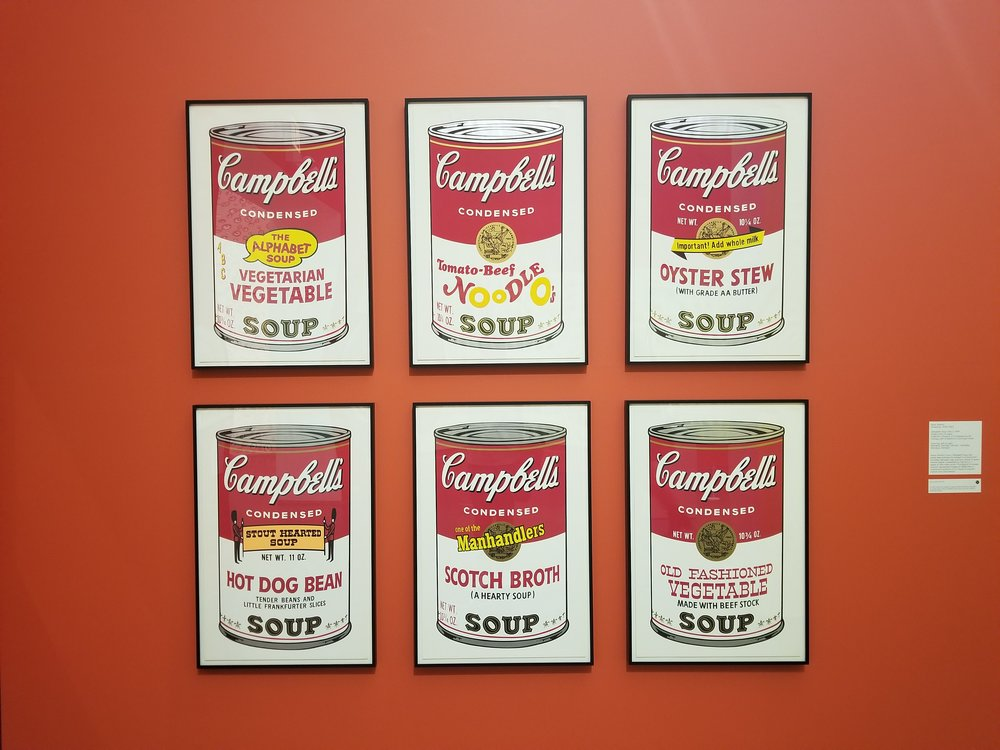 Campbell's Soup Cans II, Andy Warhol, 1969