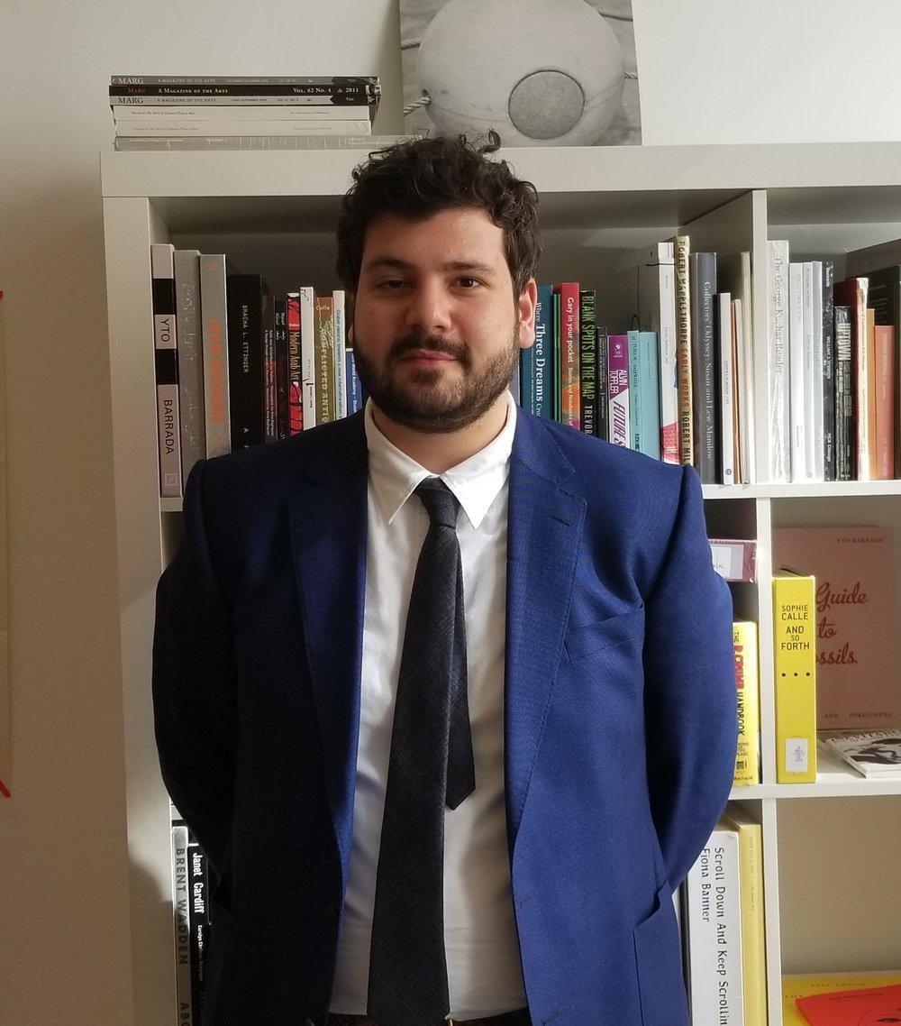 MCA Senior Curator Omar Kholeif