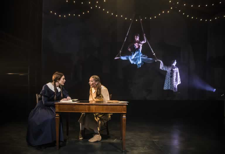 Scene from Lookingglass Theatre's production of HARD TIMES