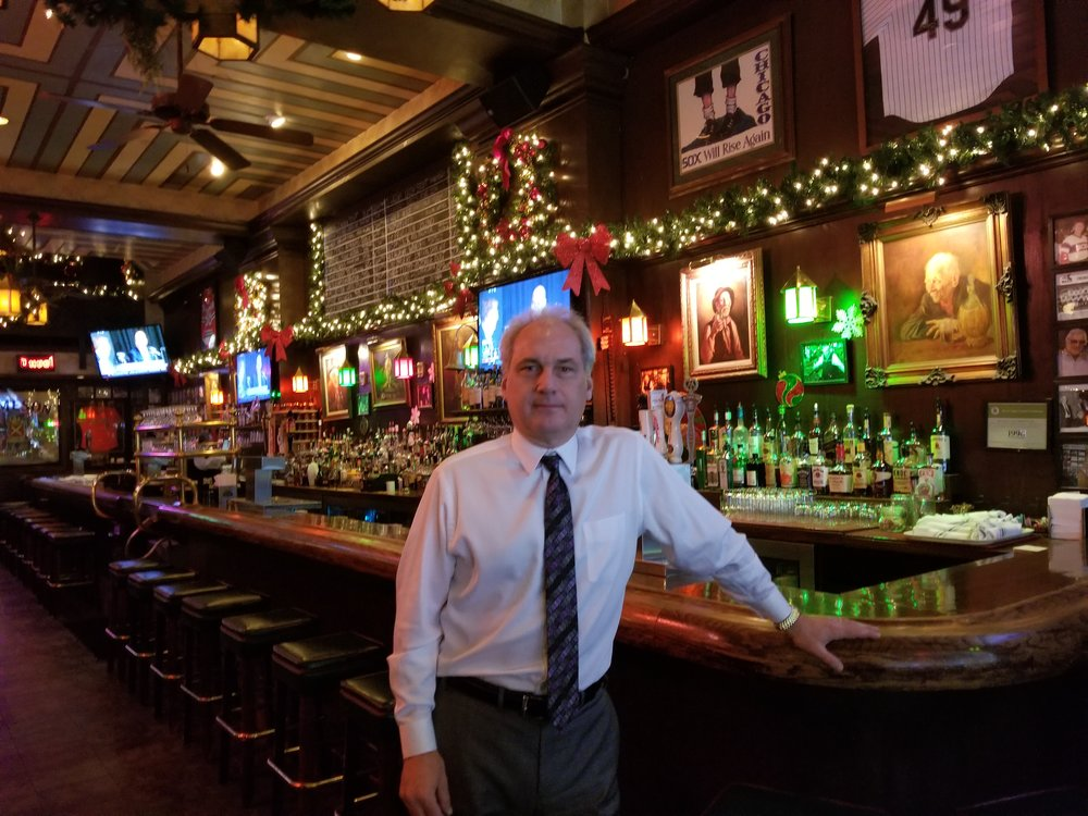 Miller's Pub co-owner, Aris Gallios