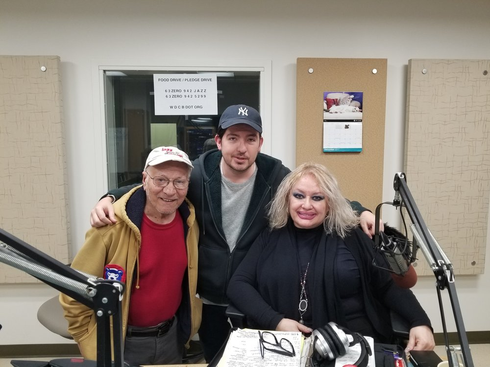 Victor Parra, WDCB's Gary ZIdek and Connie Parra