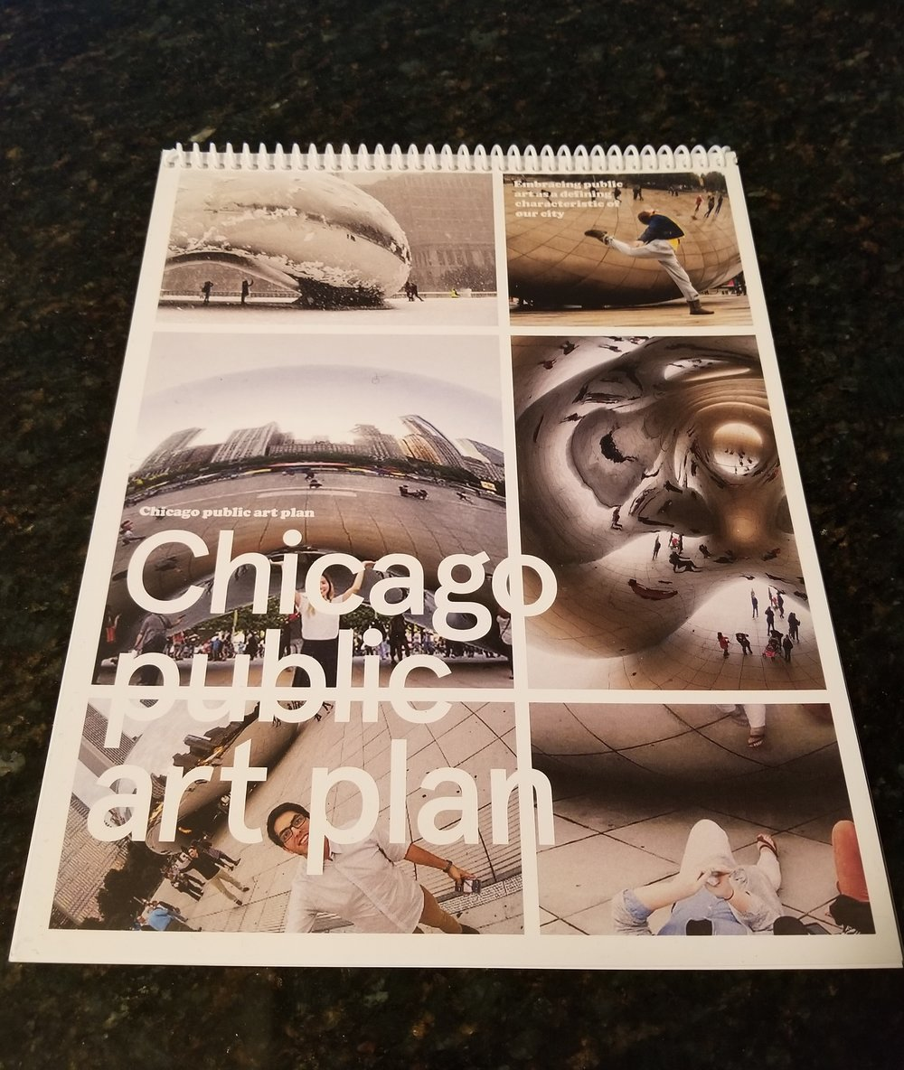 Chicago's first public art plan was released in 2017