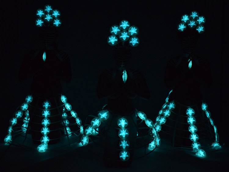 Image from Cole's Bioluminescent Nudes collection