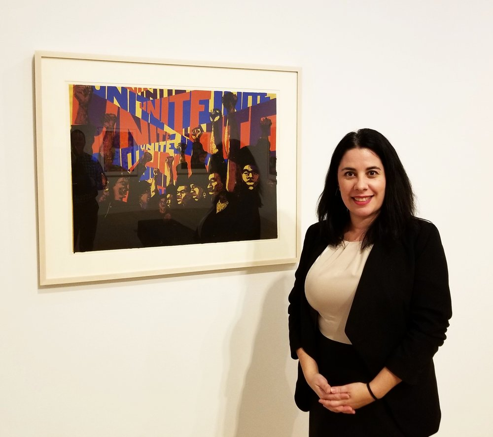 Julie Rodrigues Widholm, director/chief curator of the DePaul Art Museum