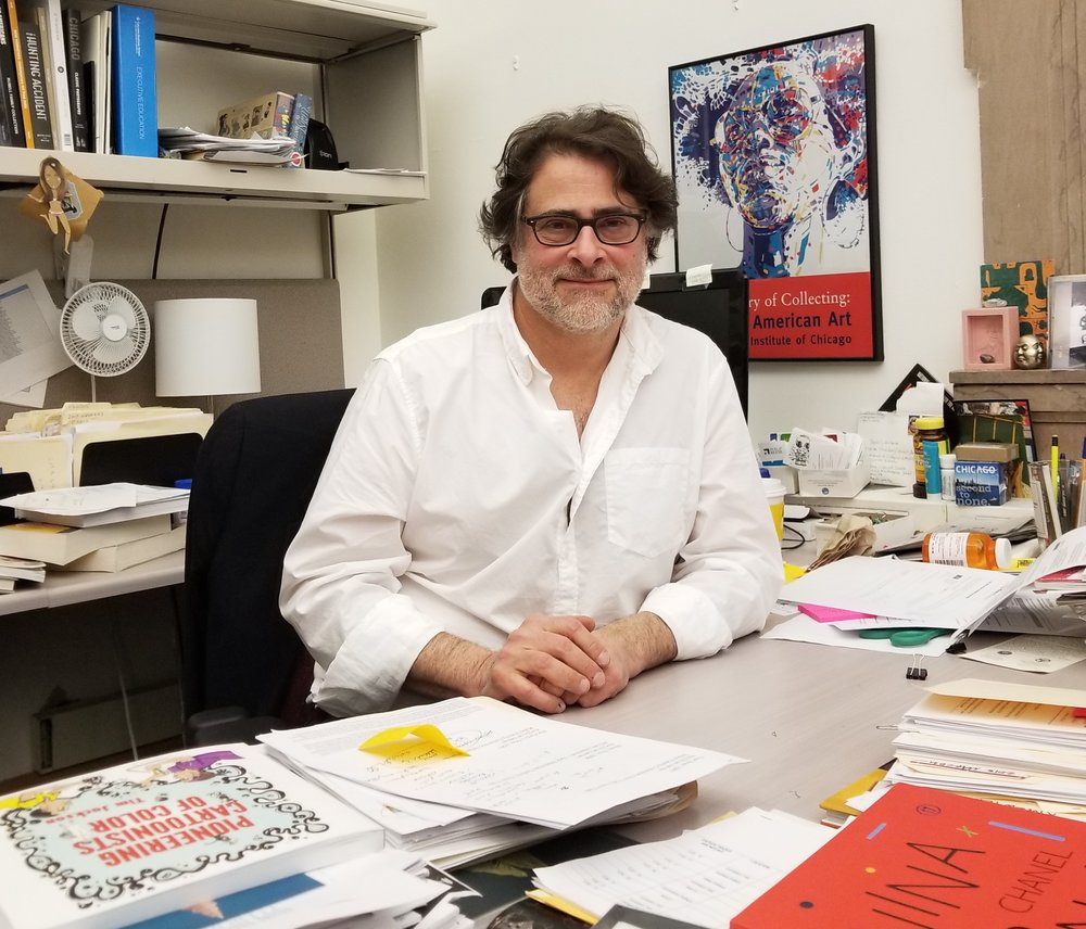 Daniel Schulman, Director of Visual Art for Chicago's Department of Cultural Affairs and Special Events