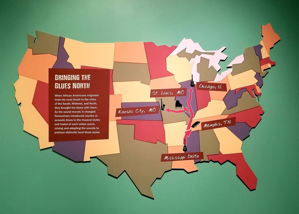Mapping the journey of the blues in the Chicago History Museum's new exhibit