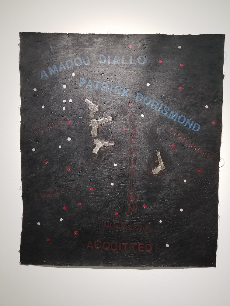 Diallo,   Howardena Pindell, 2000