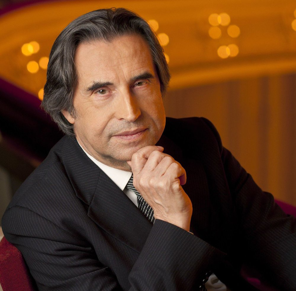 Chicago Symphony Orchestra music director Riccardo Muti