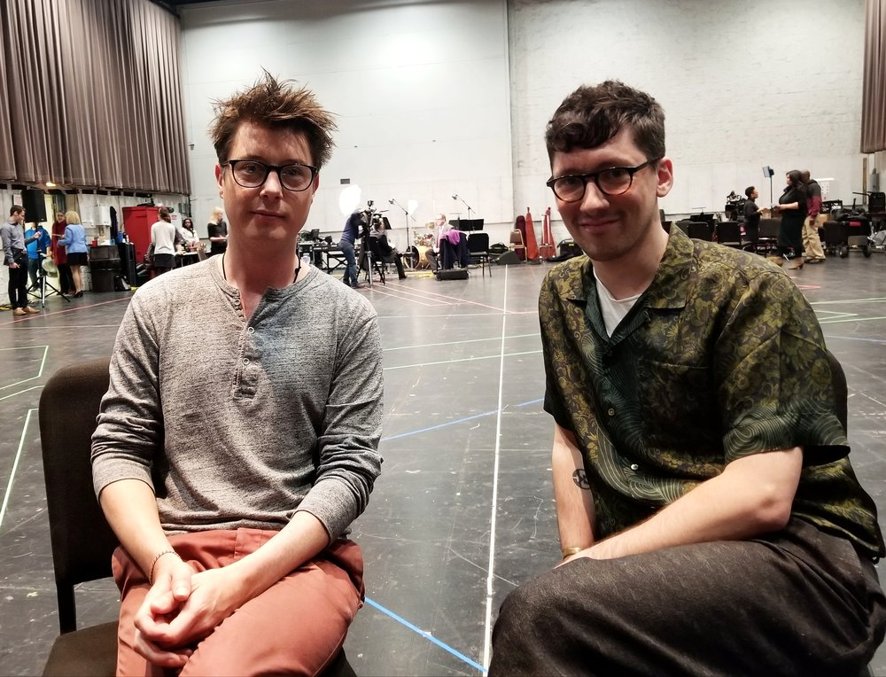 Tom Deering (music director) & Tom Scutt (set & costume designer)