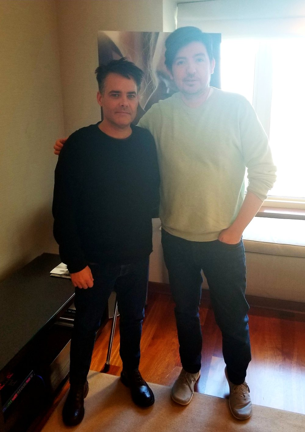 Oscar-winner Sebastian Lelio & WDCB's Gary Zidek