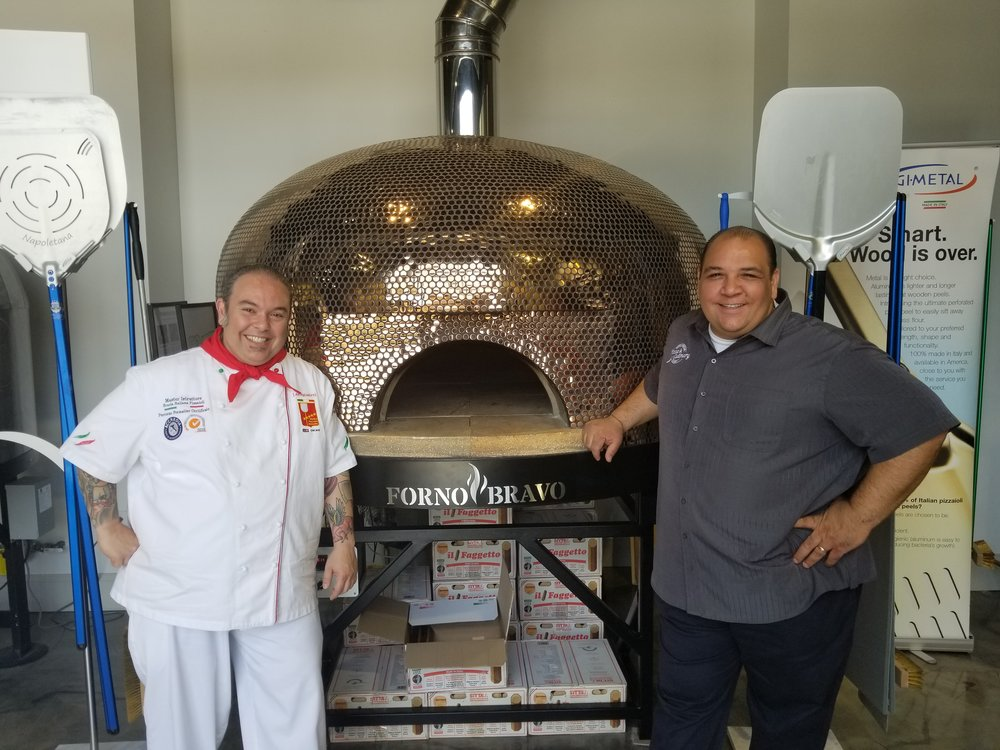Leo Spizzirri and Anthony Iannone, co-founders of North American Pizza & Culinary Academy