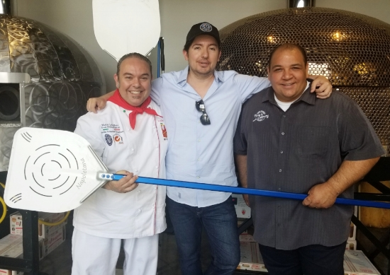 Leo Spizzirri, WDCB's Gary Zidek & Anthony Iannone
