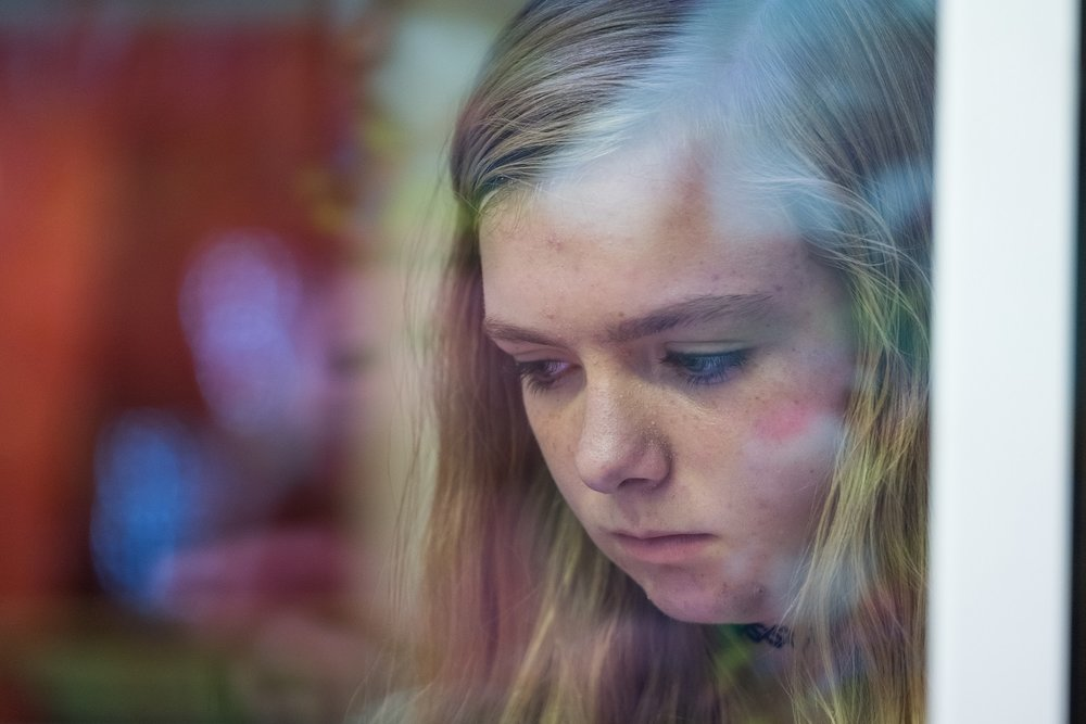 Elsie Fisher as Kayla in EIGHTH GRADE