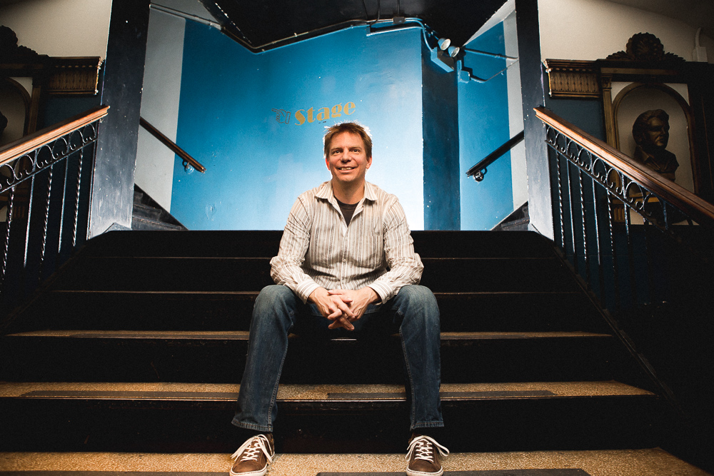 Seth Boustead, the founder & executive director of Access Contemporary Music
