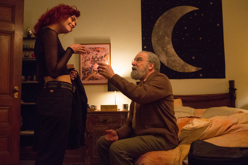 Olivia Cook and Mandy Patinkin in LIFE ITSELF