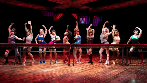 A scene from Marriott Theatre's production of SWEET CHARITY