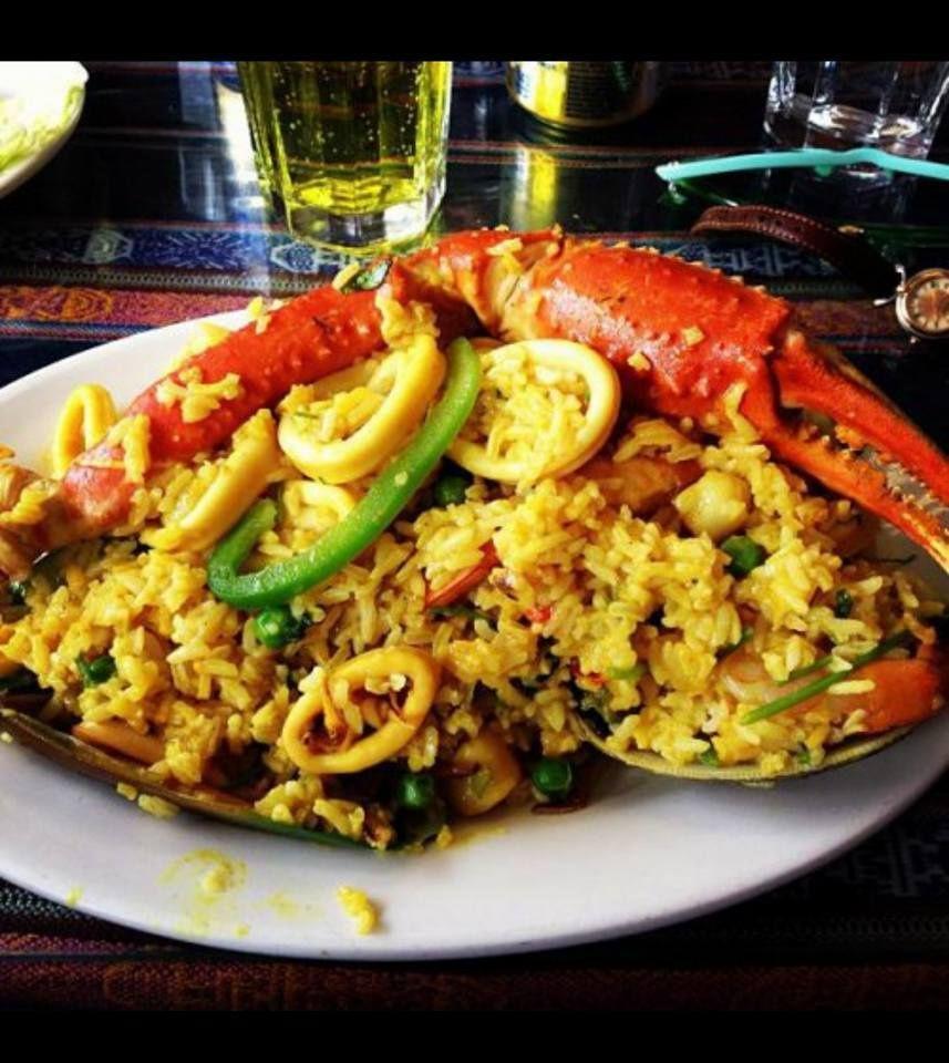 Paella at Taste of Peru