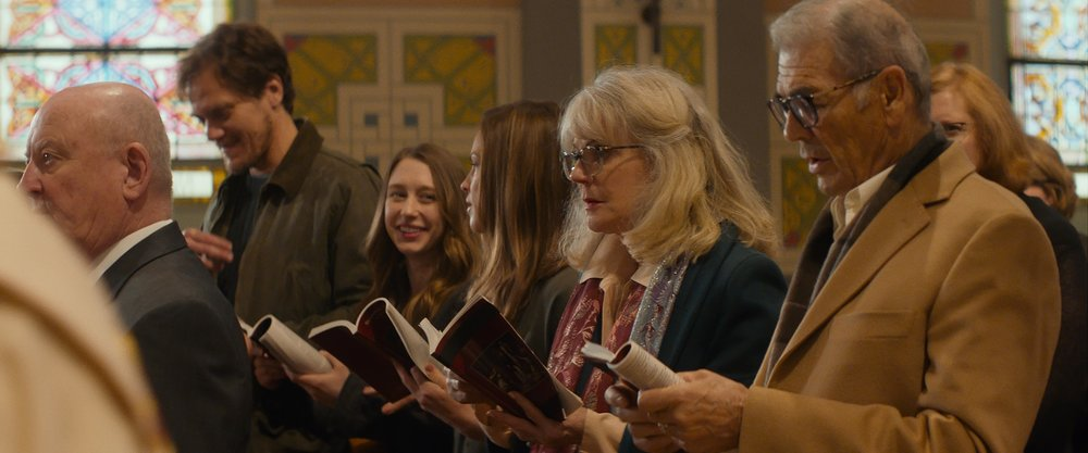 Michael Shannon, Taissa Farmiga, Hilary Swank, Blythe Danner and Robert Forester in WHAT THEY HAD.