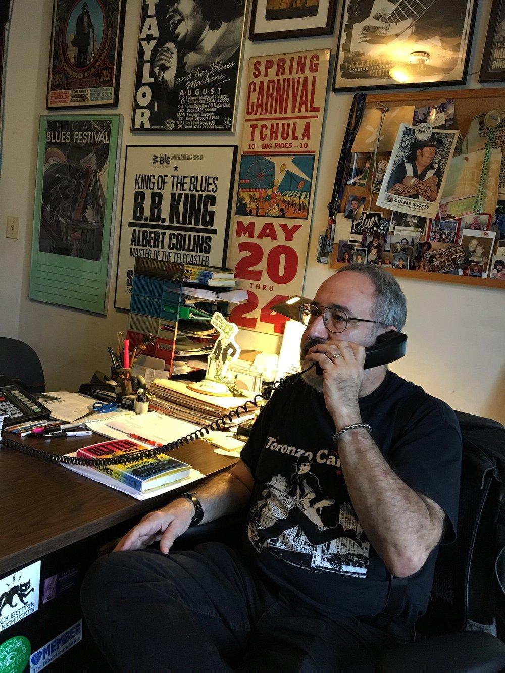 Alligator Records founder Bruce Iglauer