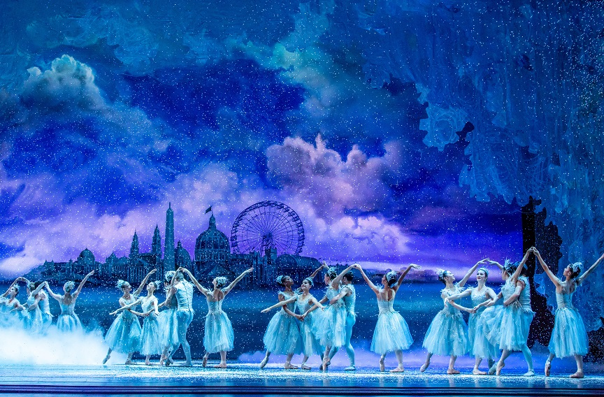 Image from Joffrey Ballet's THE NUTCRACKER. Photo credit Cheryl Mann.