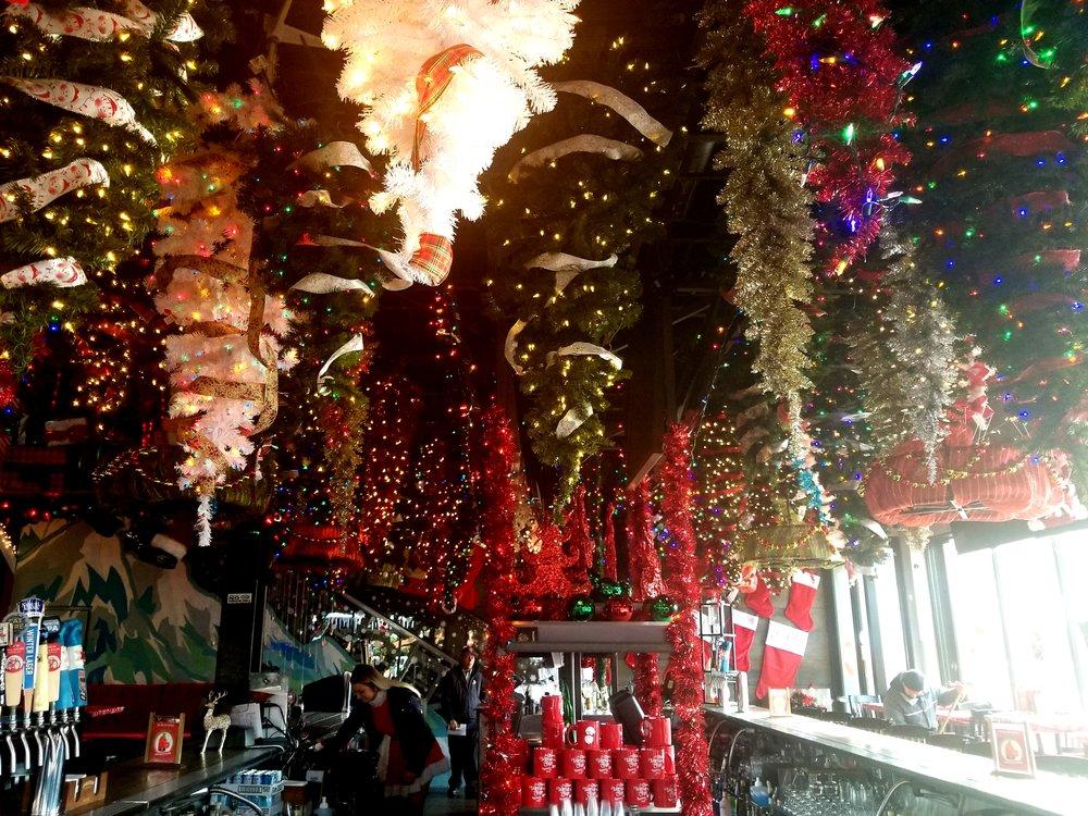 Santa Baby's bar area