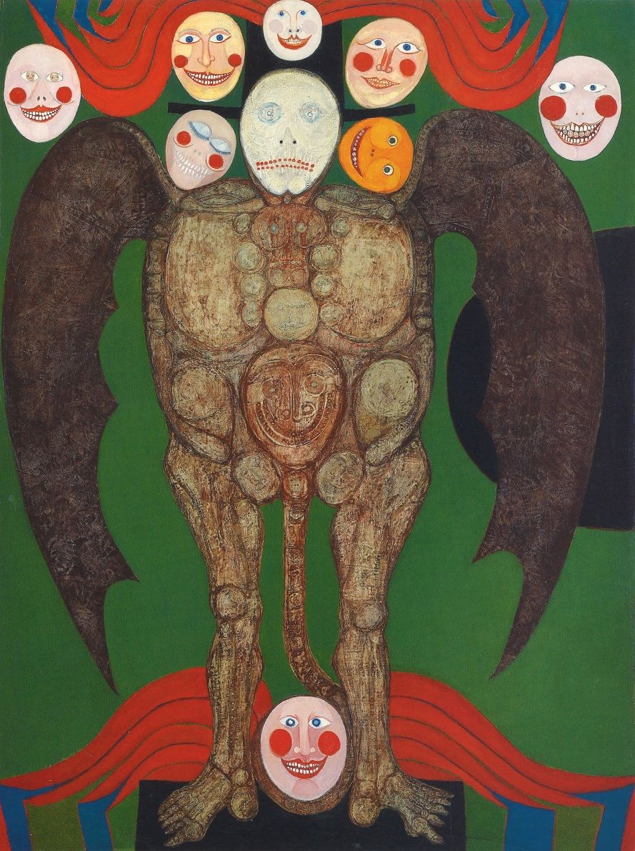 Ted Halkin,  Angel , 1953