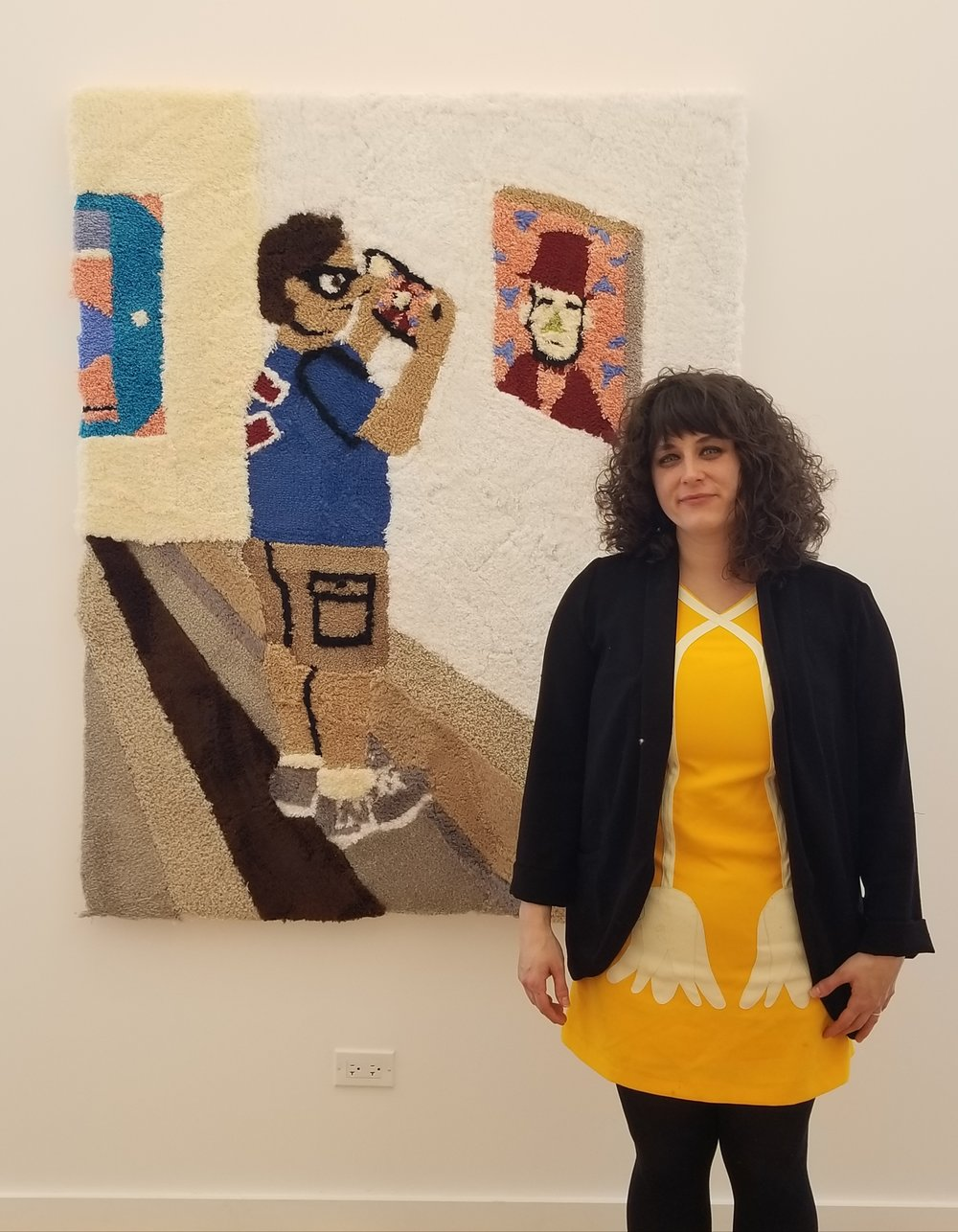 Artist Jessica Campbell